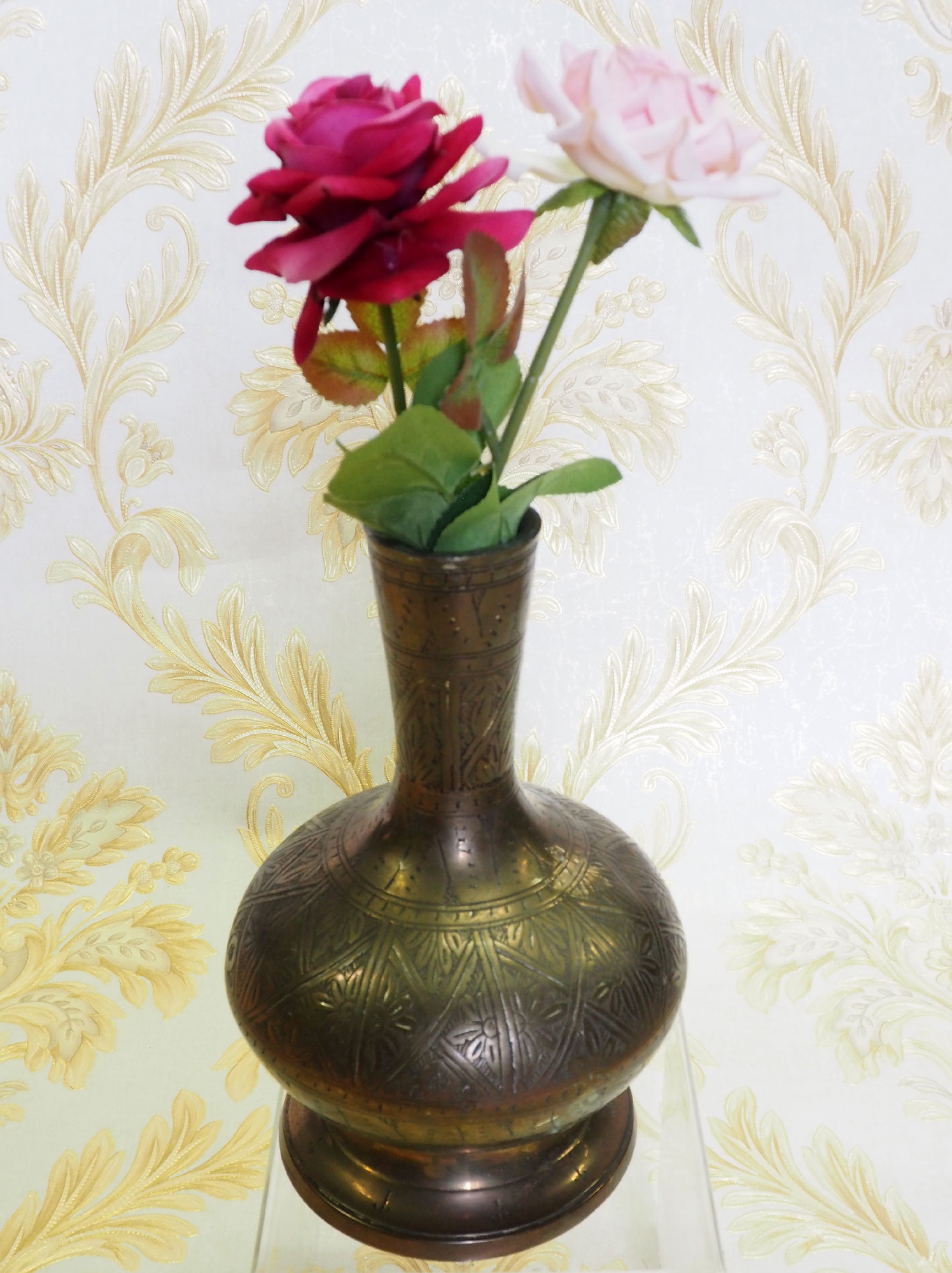 antik Massiv islamische Messing Wasserpfeife shisha Hookahs Schischa nargile Kalian aus Afghanistan Nr:19/11