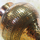 antik Massiv islamische Kupfer mini hand Wasserpfeife shisha Hookahs Schischa nargile Kalian aus Afghanistan Nr:19/12