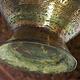 antik Massiv islamische Kupfer mini hand Wasserpfeife shisha Hookahs Schischa nargile Kalian aus Afghanistan Nr:19/14