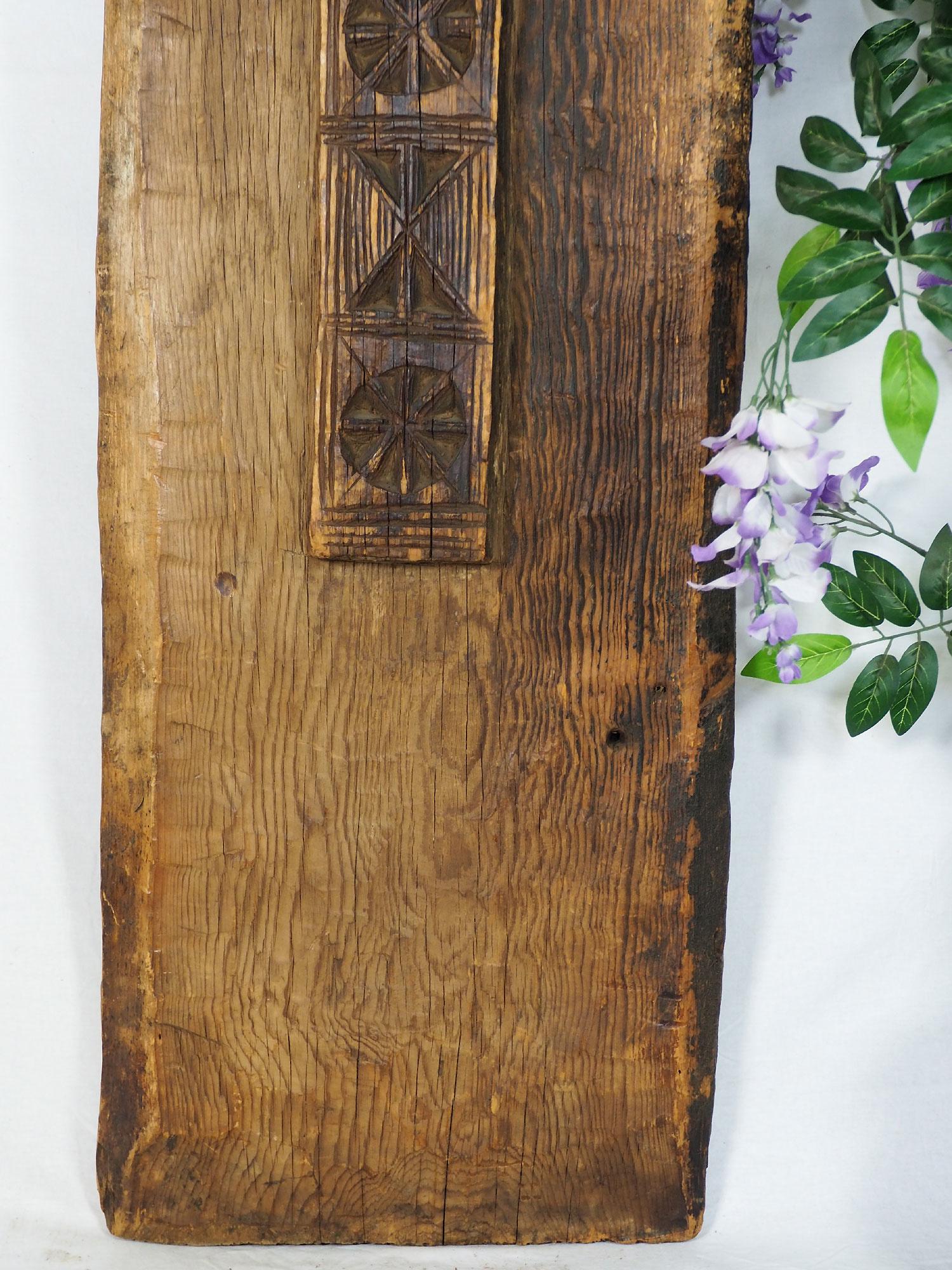 antik orient Massiv Holz Haustür Tür türplatte zimmertür Afghanistan Nuristan Pakistan Swat-Valley 19 Jh. Nr:19/A