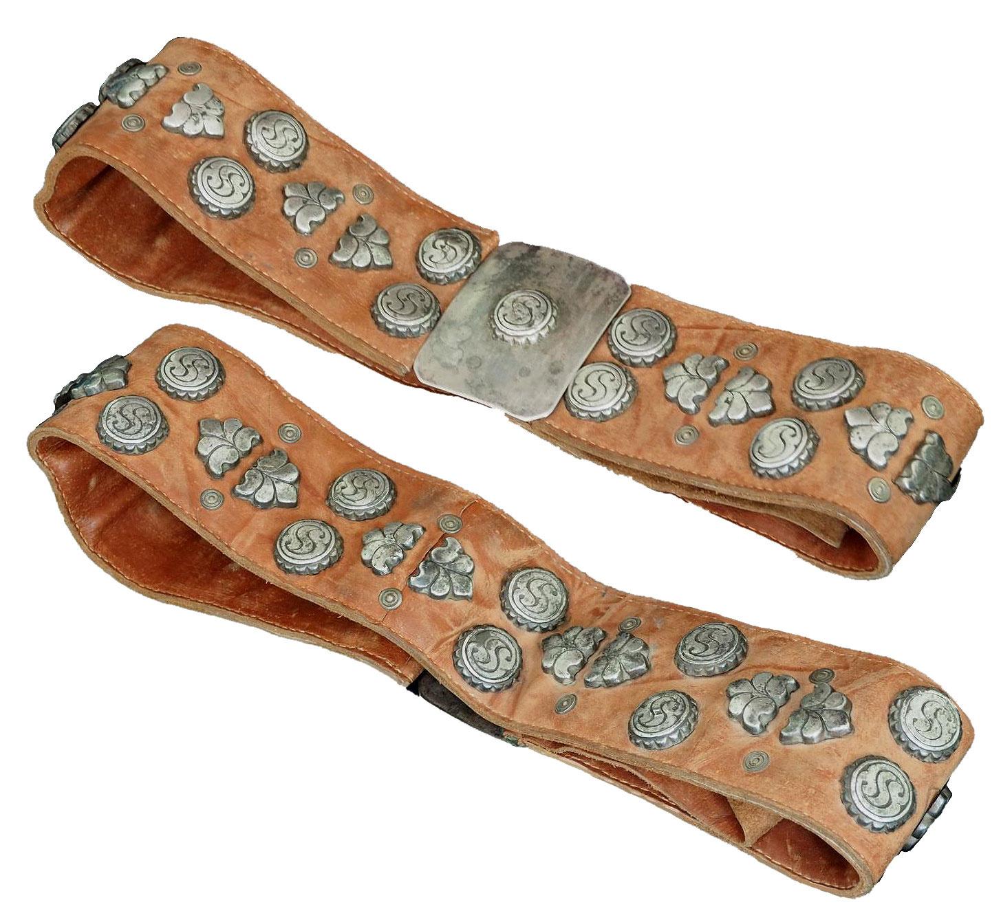 antique Turkmen Men's wedding belt 19/A