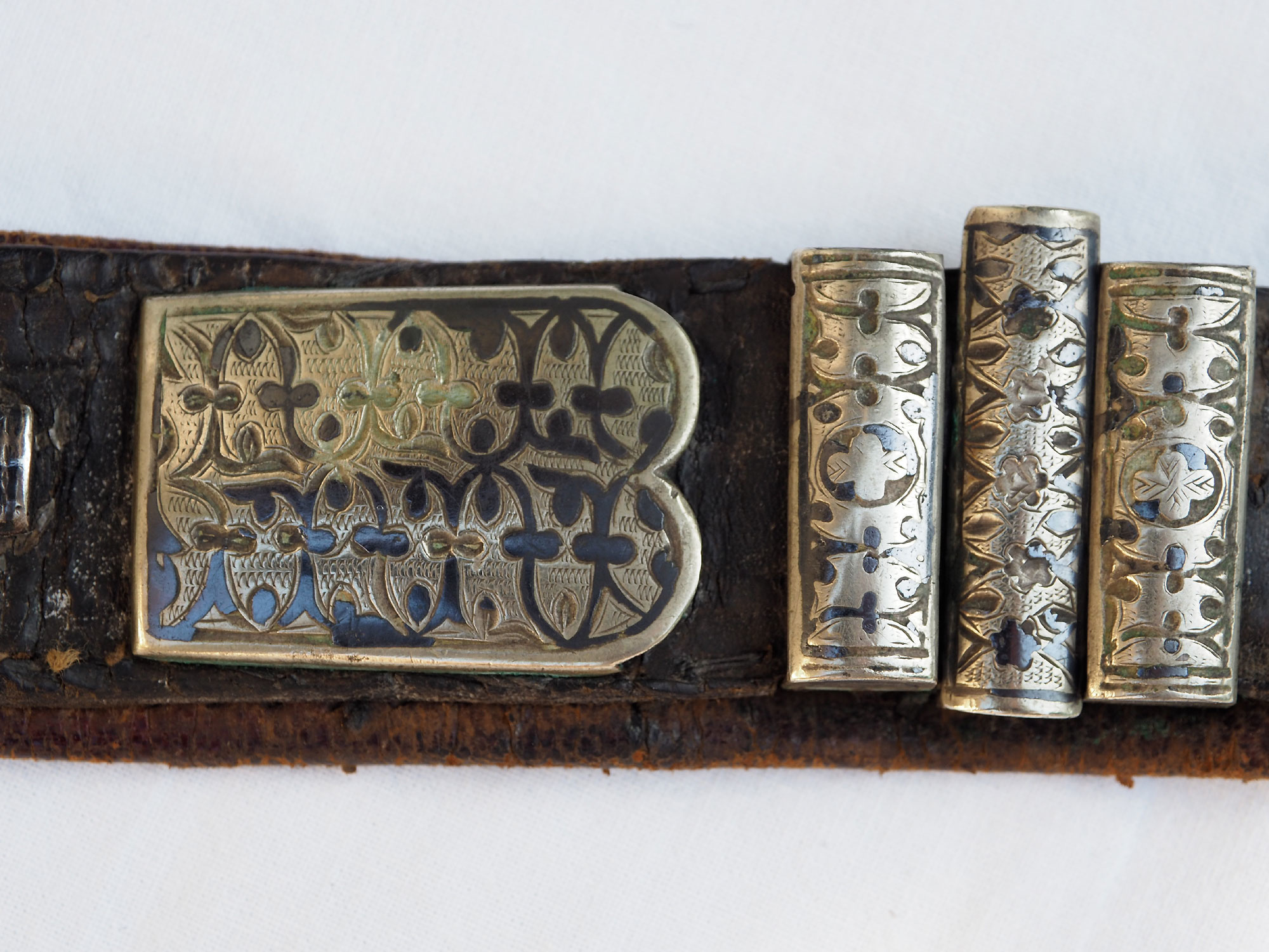 antique Turkmen Men's wedding belt 19/B