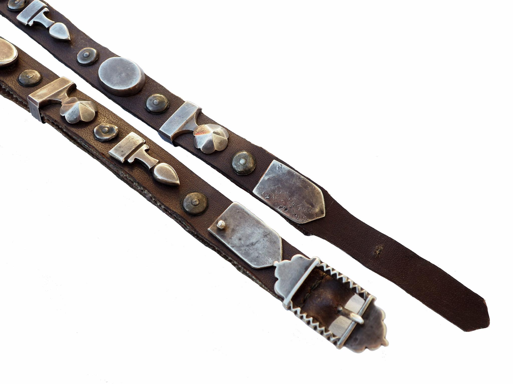 antique Turkmen Men's wedding belt 19/C