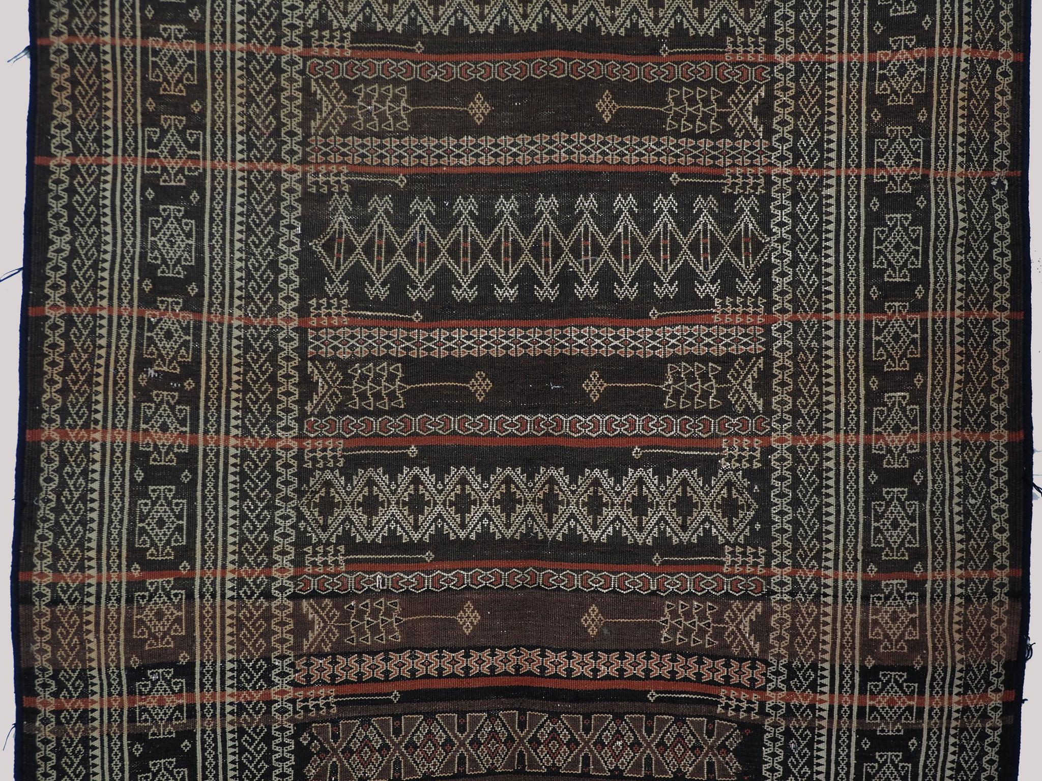 293x124 cm Antik Balouch  kelim afghan Beloch kilim Nr-19/PK-7