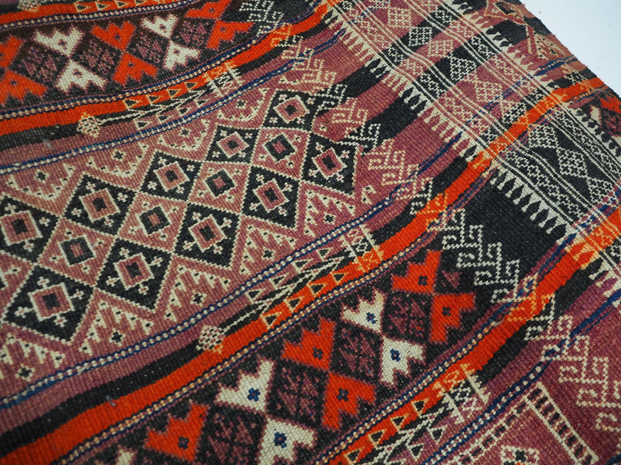 300x132 cm  Antik Balouch  kelim afghan Beloch kilim Nr-19/PK-14