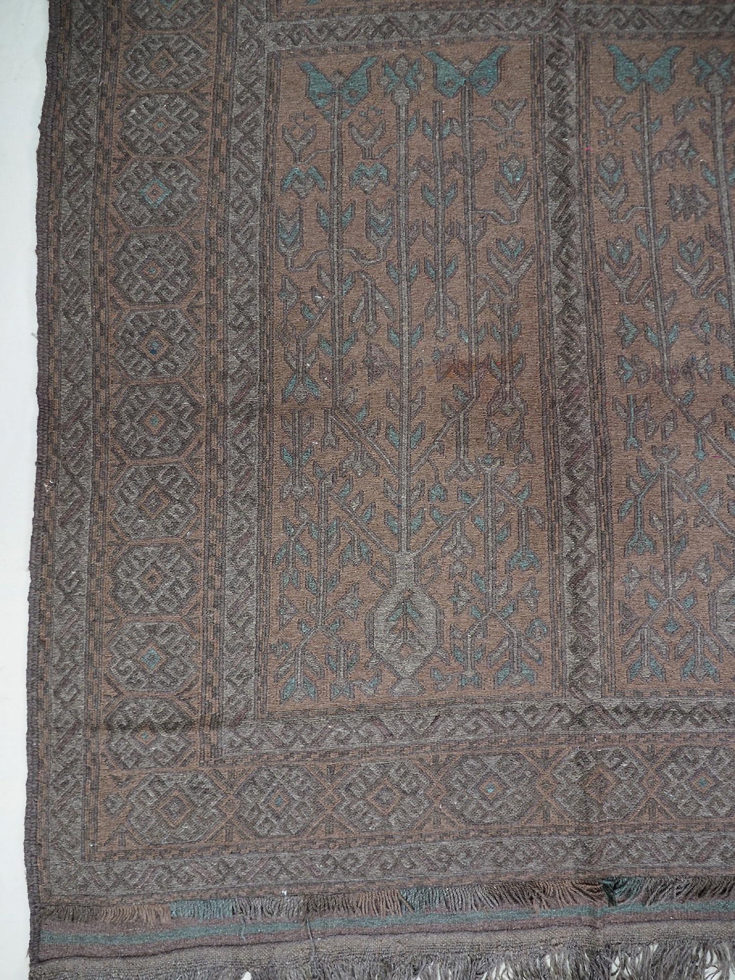 295x175 cm  sumakh kelim Taimani Balouch Süd-Afghanistan Nr-TM-4