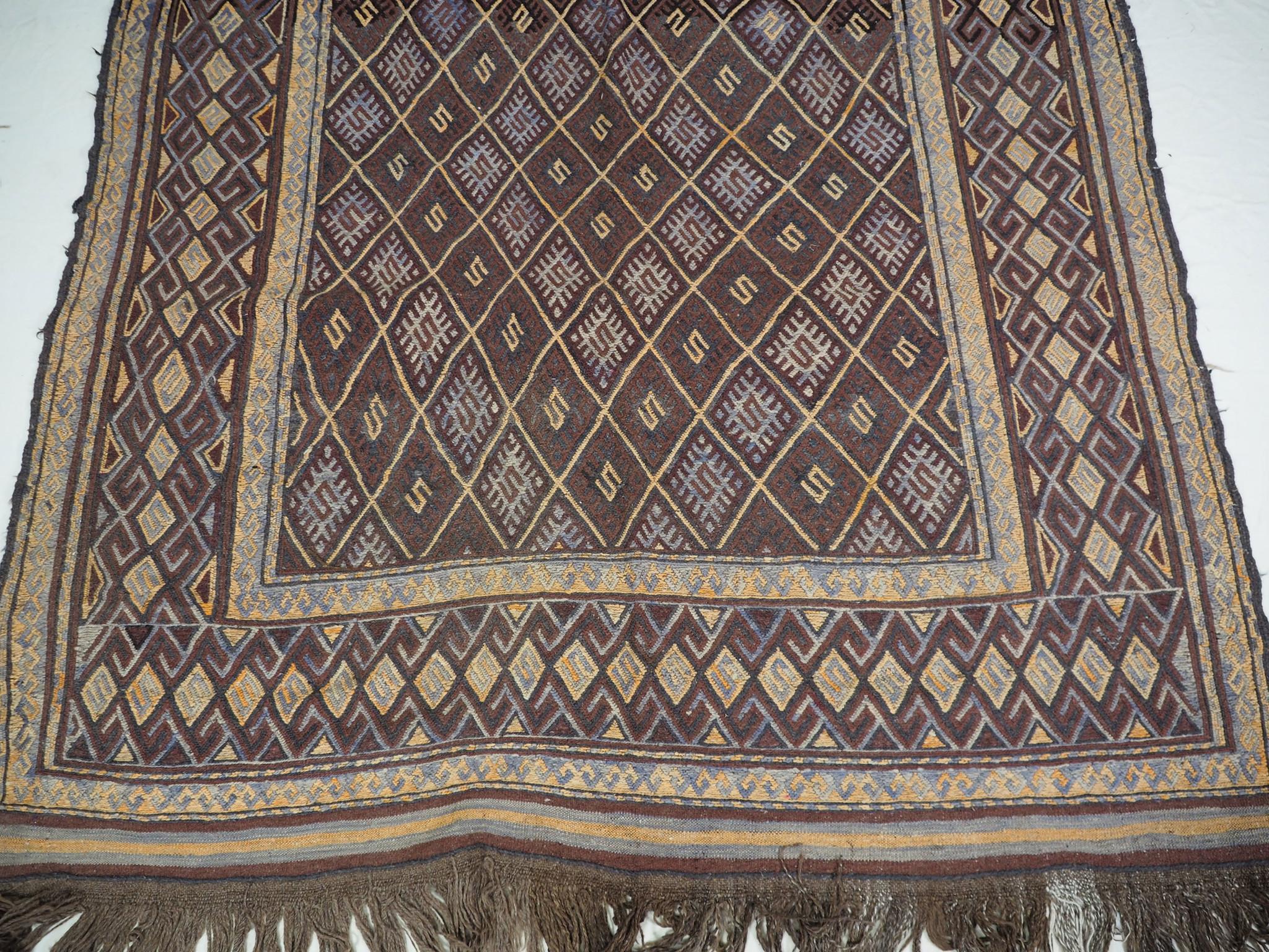 280x170 cm  sumakh kelim Taimani Balouch Süd-Afghanistan Nr-TM-5