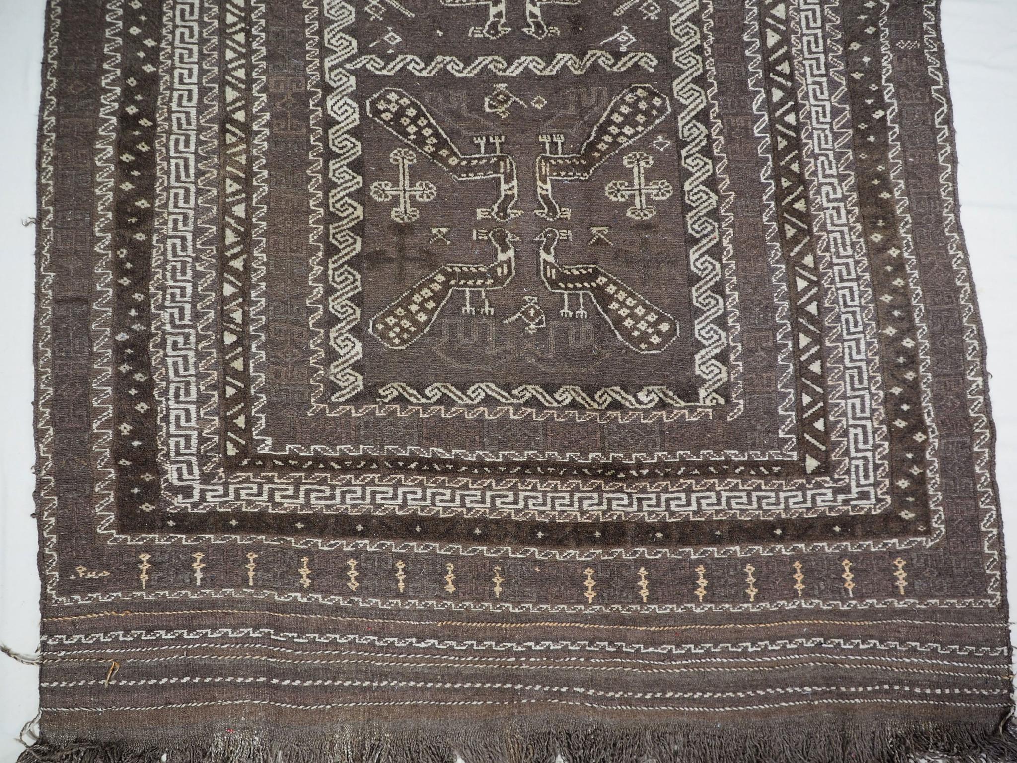 280x155 cm  sumakh kelim Taimani Balouch Süd-Afghanistan Nr-TM-6