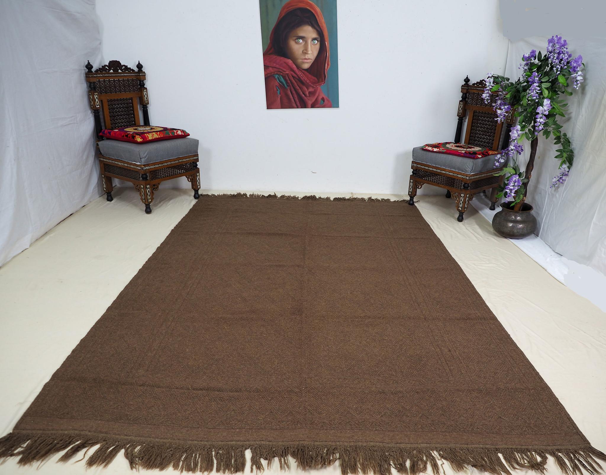 "260x180 cm (102,3"" x 70,8"" inch)  sumakh kelim Taimani Balouch Süd-Afghanistan Nr-TM-12"