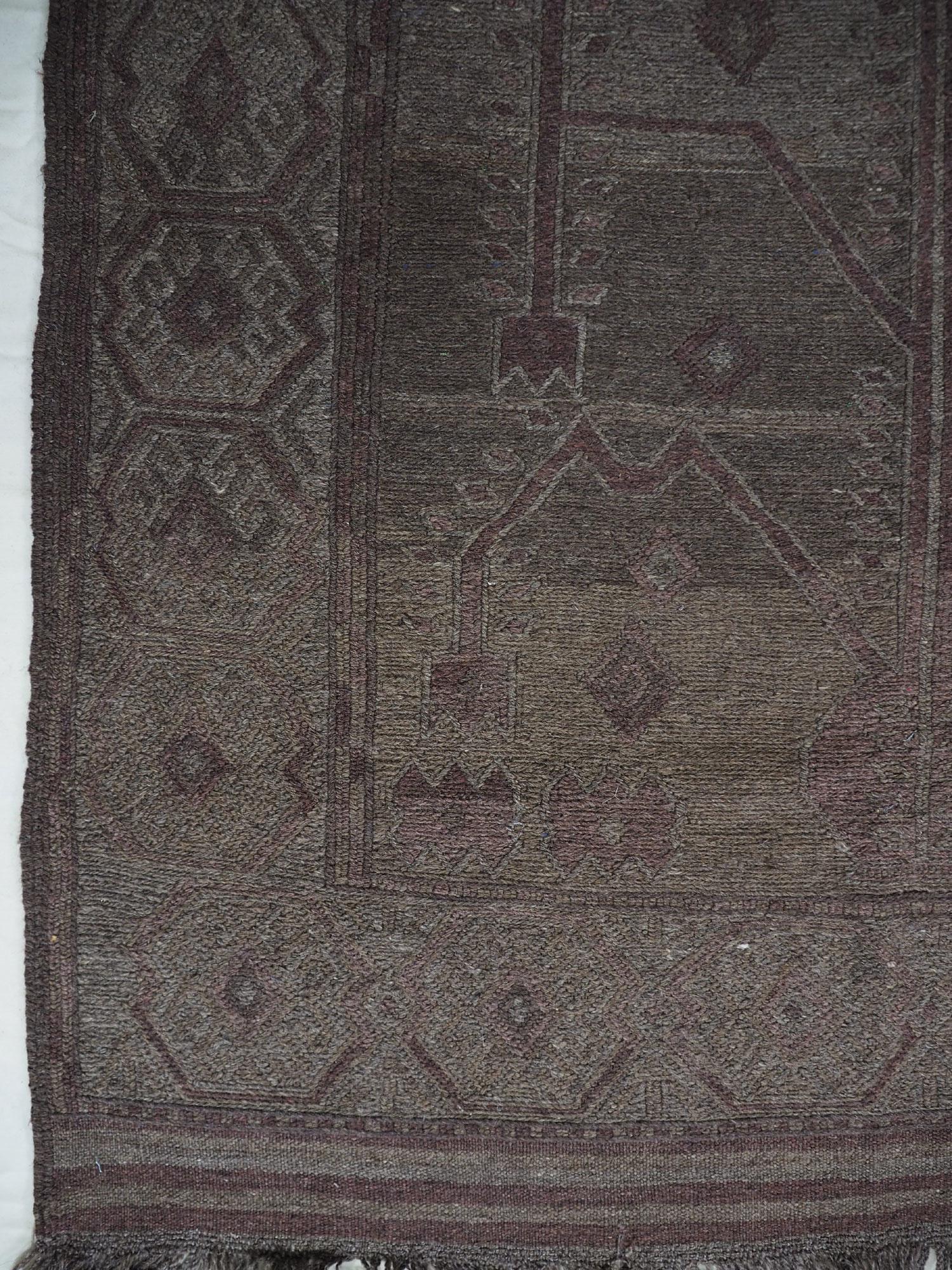 "200x120 cm (78,7"" x 47,2"" inch) sumakh kelim Taimani Balouch Süd-Afghanistan Nr-TM-13"