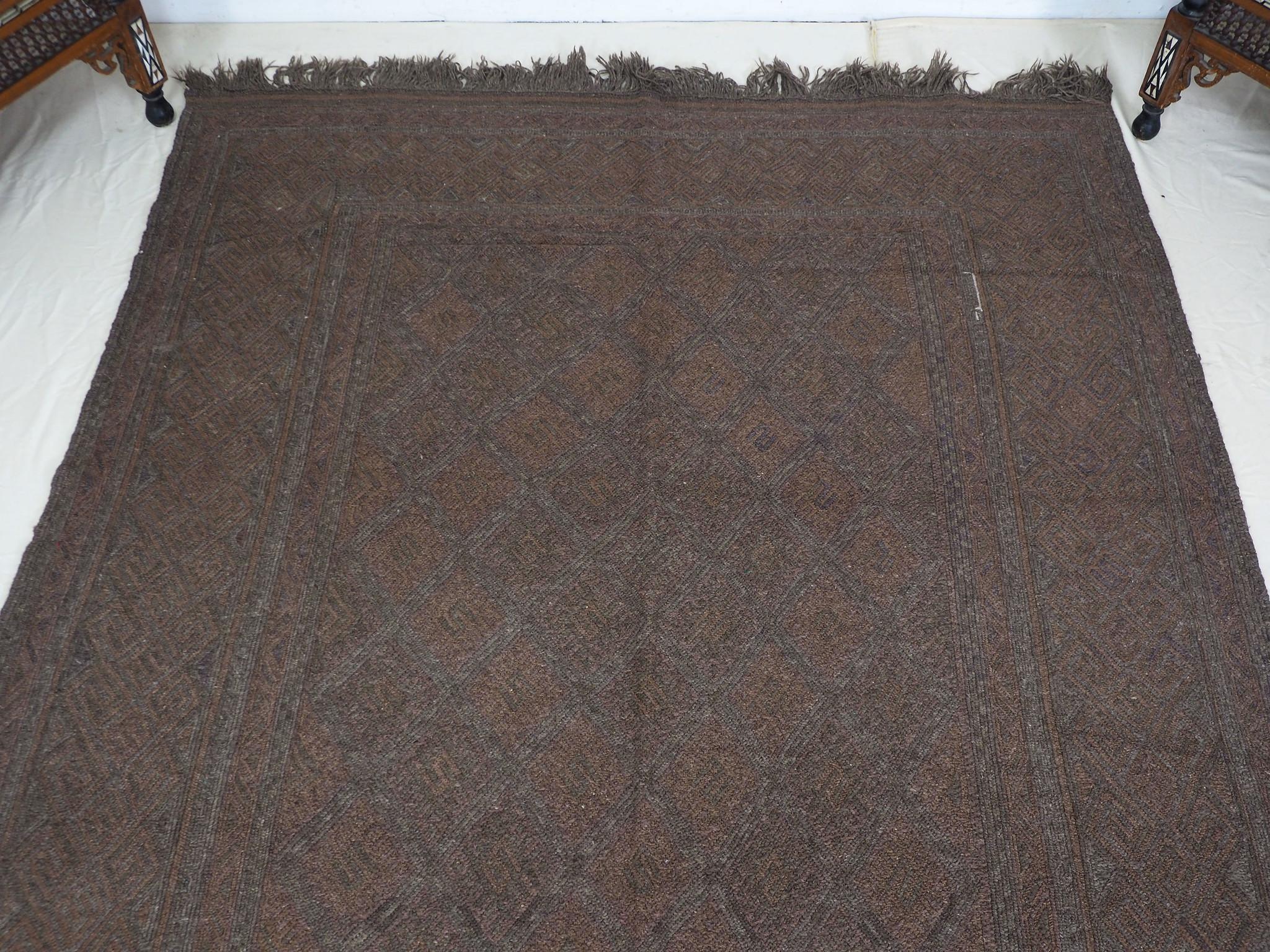"285x170 cm (112,2"" x 66,9"" inch)  sumakh kelim Taimani Balouch Süd-Afghanistan Nr-TM-15"