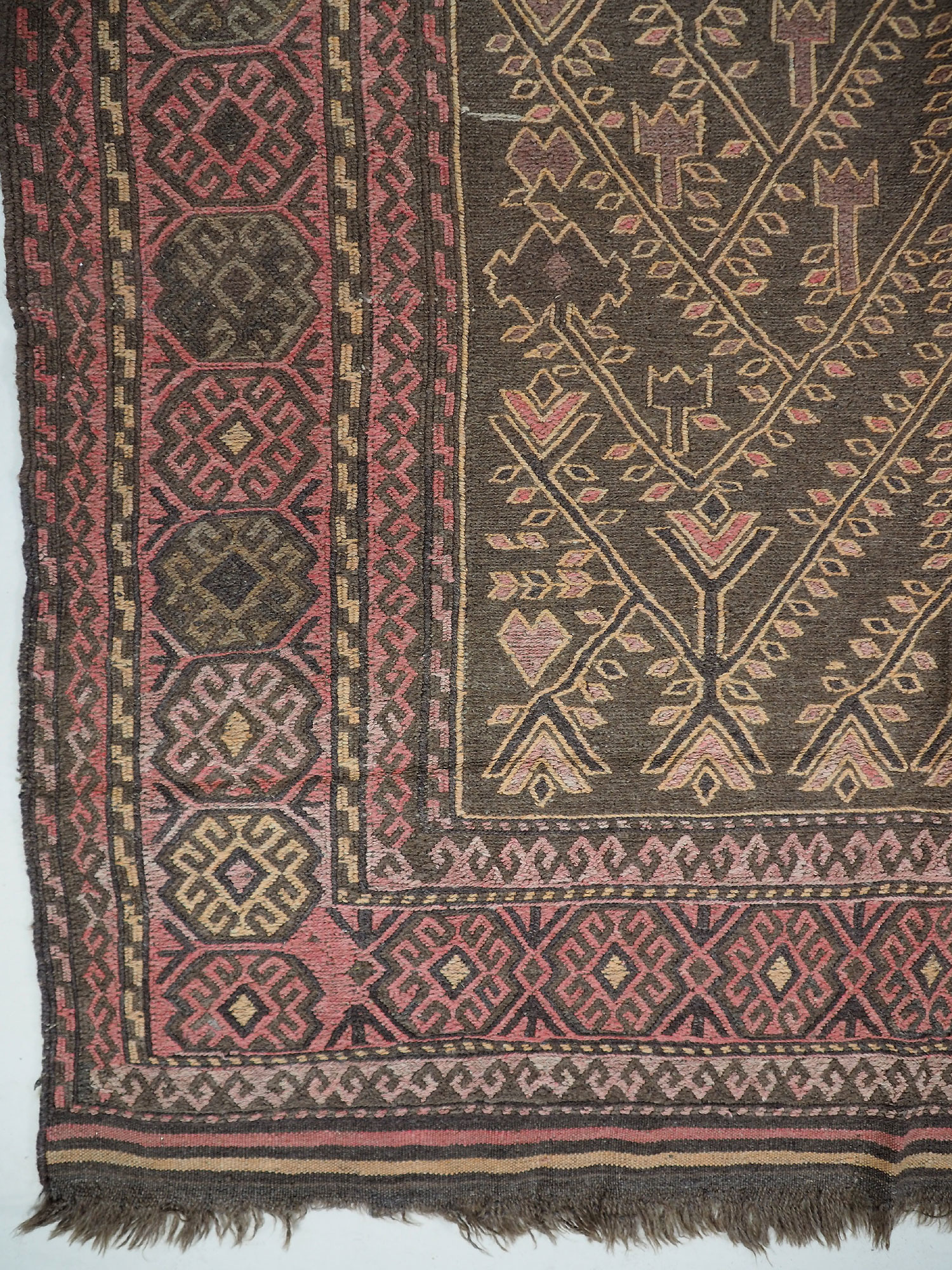 "300x165 cm (118,1"" x 64,9"" inch)  sumakh kelim Taimani Balouch Süd-Afghanistan Nr-TM-16"