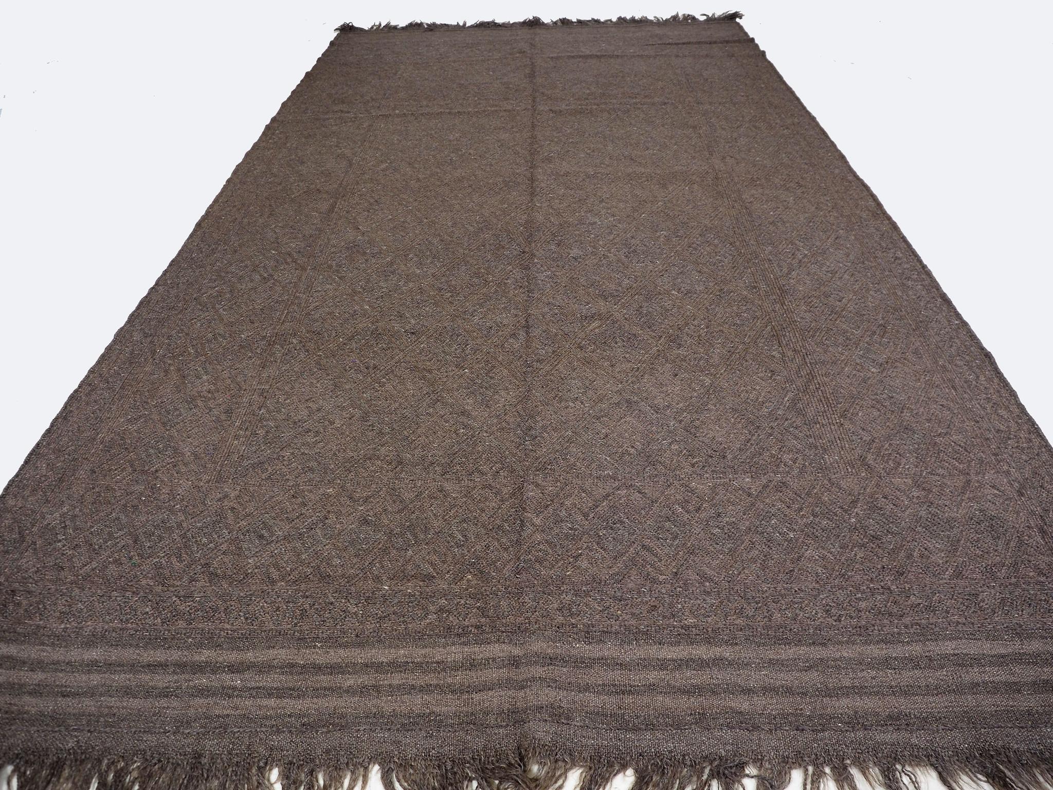 "285x160 cm (112,2"" x 62,9"" inch) sumakh kelim Taimani Balouch Süd-Afghanistan Nr-TM-19"