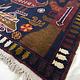 Afghan Kriegteppich Handgeknüpf Teppich Afghanistan panzer kampfjet gewehr USA Army Nato ISAF war rug Nr:19/ 18