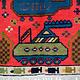 Afghan Kriegteppich Handgeknüpf Teppich Afghanistan panzer kampfjet gewehr USA Army Nato ISAF war rug Nr:19/ 20