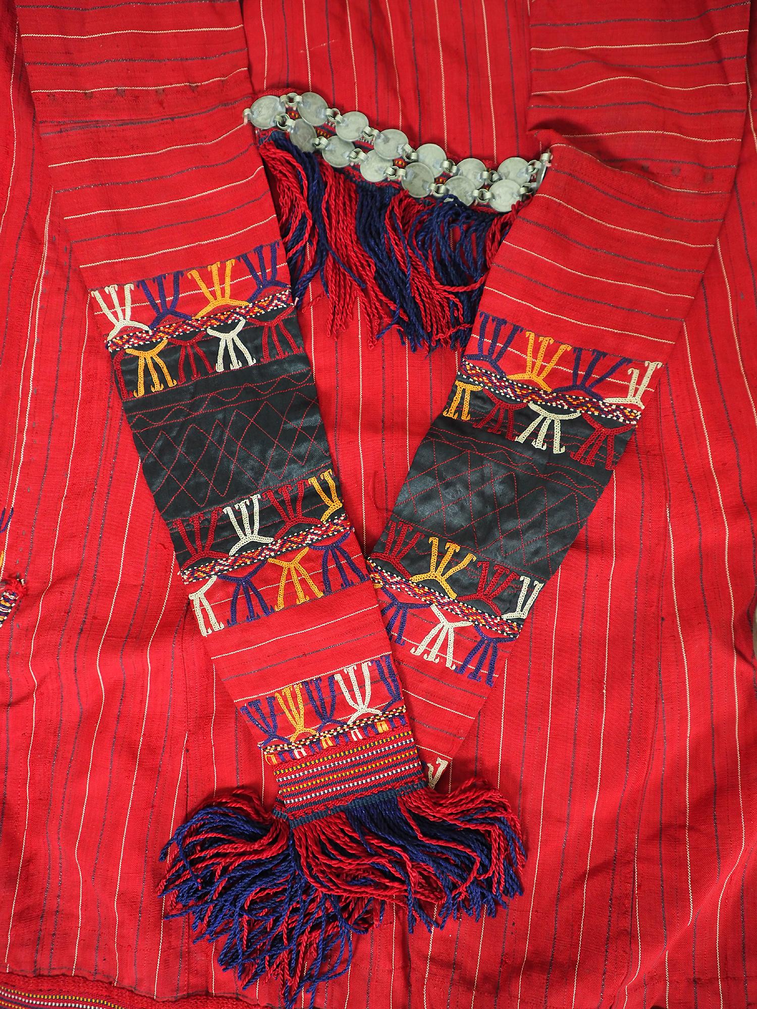 antik Orient Turkmenische Nomaden frauen Chirpy Mantel khalat afghan uzbek kleid afghanistan hand bestickte kostüm Chapan Nr/19WL2