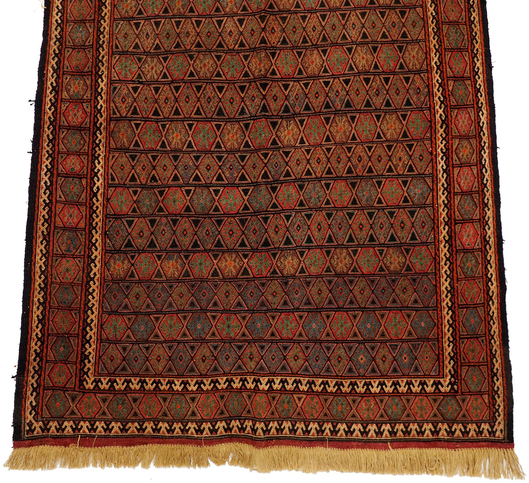 290x145 cm orient handgewebte Teppich Nomaden belotsch sumakh kelim Beloch kilim Nr-364