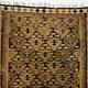 195x85 cm antike handgewebte orient kazak Teppich Nomaden kaukasische kelim No:419