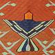 270x105 cm antike handgewebte orient kaukasischer Teppich Nomaden kelim Hochzeitsgeschenk mit Glückwunschtext Tiger und vogel Muster No:333