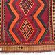 260x166 cm antike handgewebte orient kazak Teppich Nomaden kaukasische kelim No:460