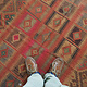 293x144 cm antike handgewebte orient kazak Teppich Nomaden kaukasische kelim No:462