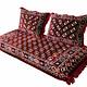 190x75 orient Sitzkissen Matratze Sitzecke Afghan toshak seating mattress (Bukhara) توشک