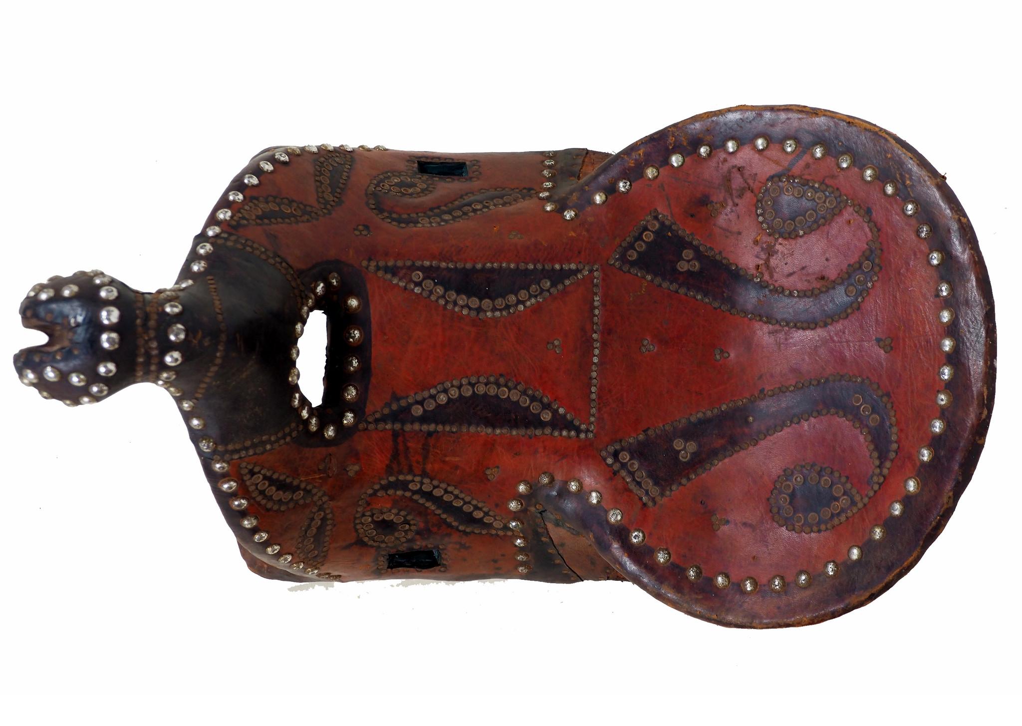 antik Orient Turkmen Uzbek Pferdesattel buzkashi Reiterspiel Sattel aus Nord Afghanistan Nr. HH/2