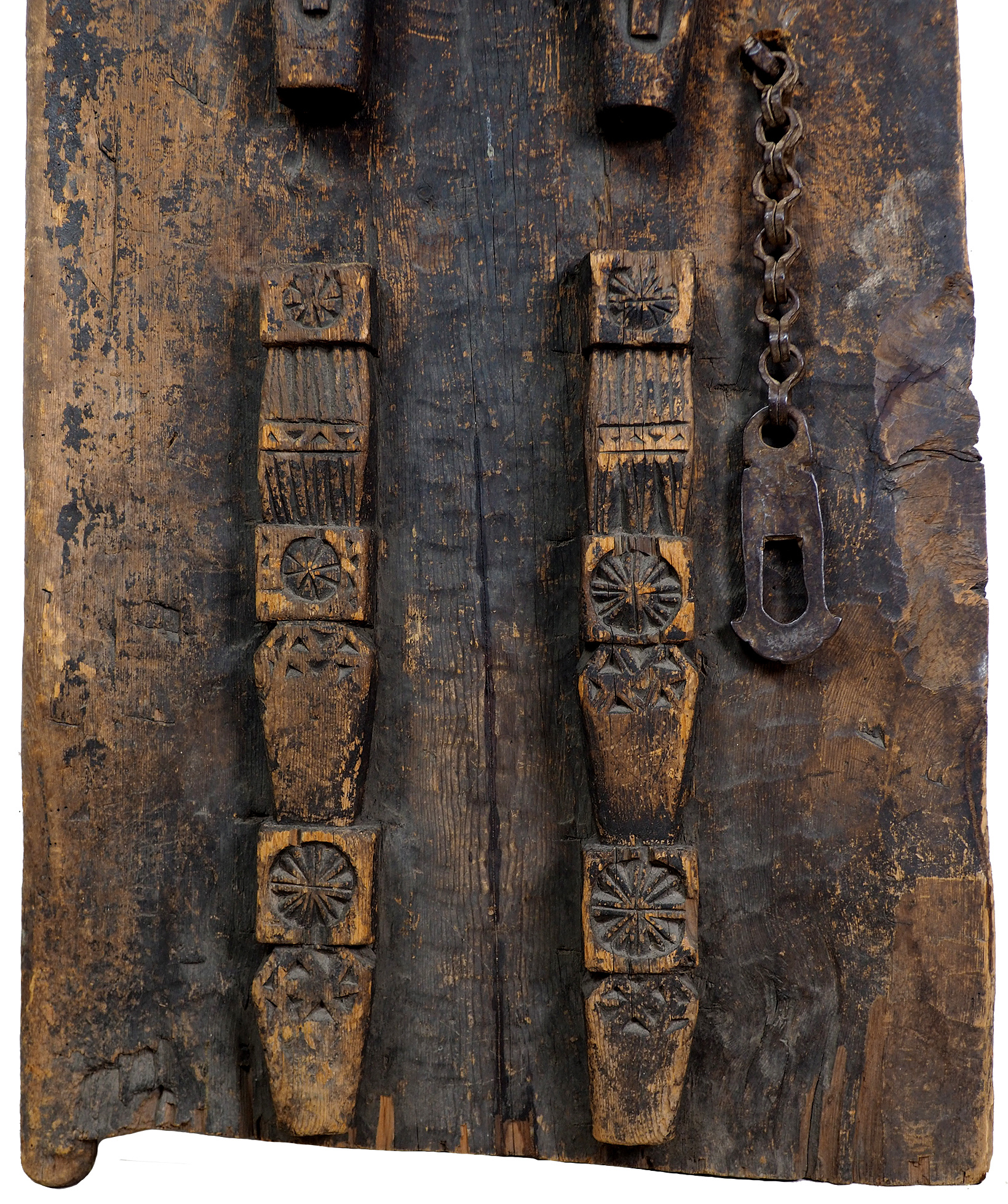 antik orient Massiv Holz Haustür Tür türplatte zimmertür Afghanistan Nuristan Pakistan Swat-Valley 19 Jh. Nr:19/A  - Copy