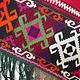antik orient Usbek Nomaden Suzani Jurten Zierband saye-gosha aus Afghanistan Nr:115