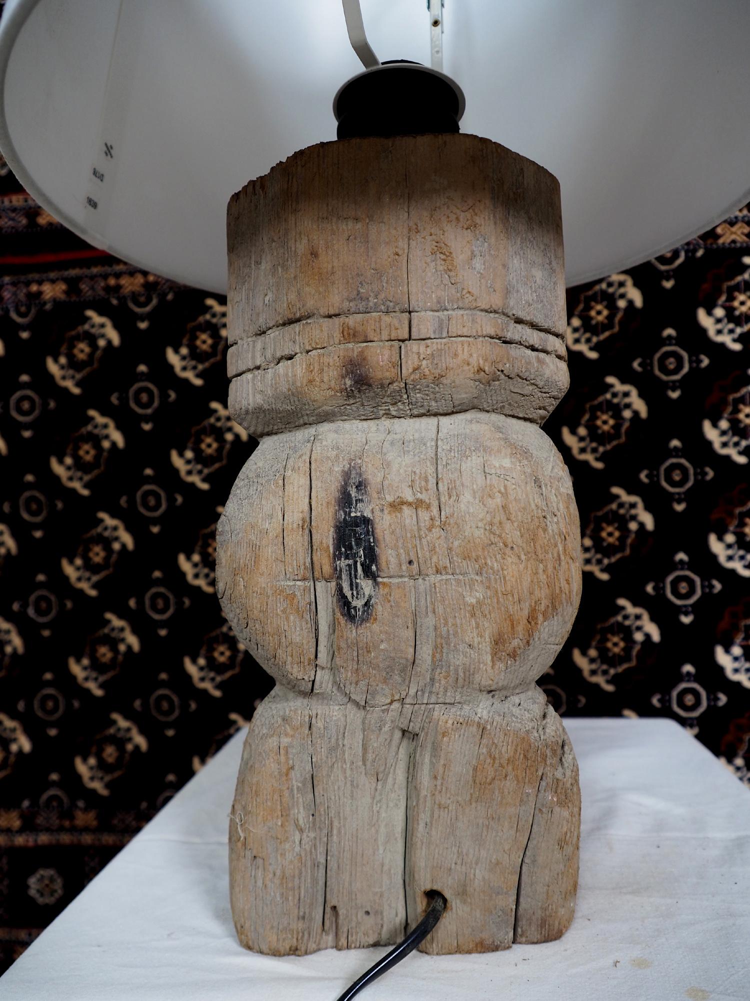 Antique lamp base  Nuristan  19/3
