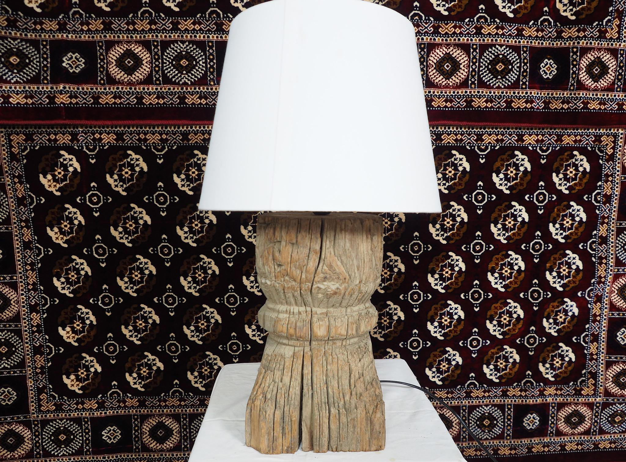Antique lamp base  Nuristan  19/4