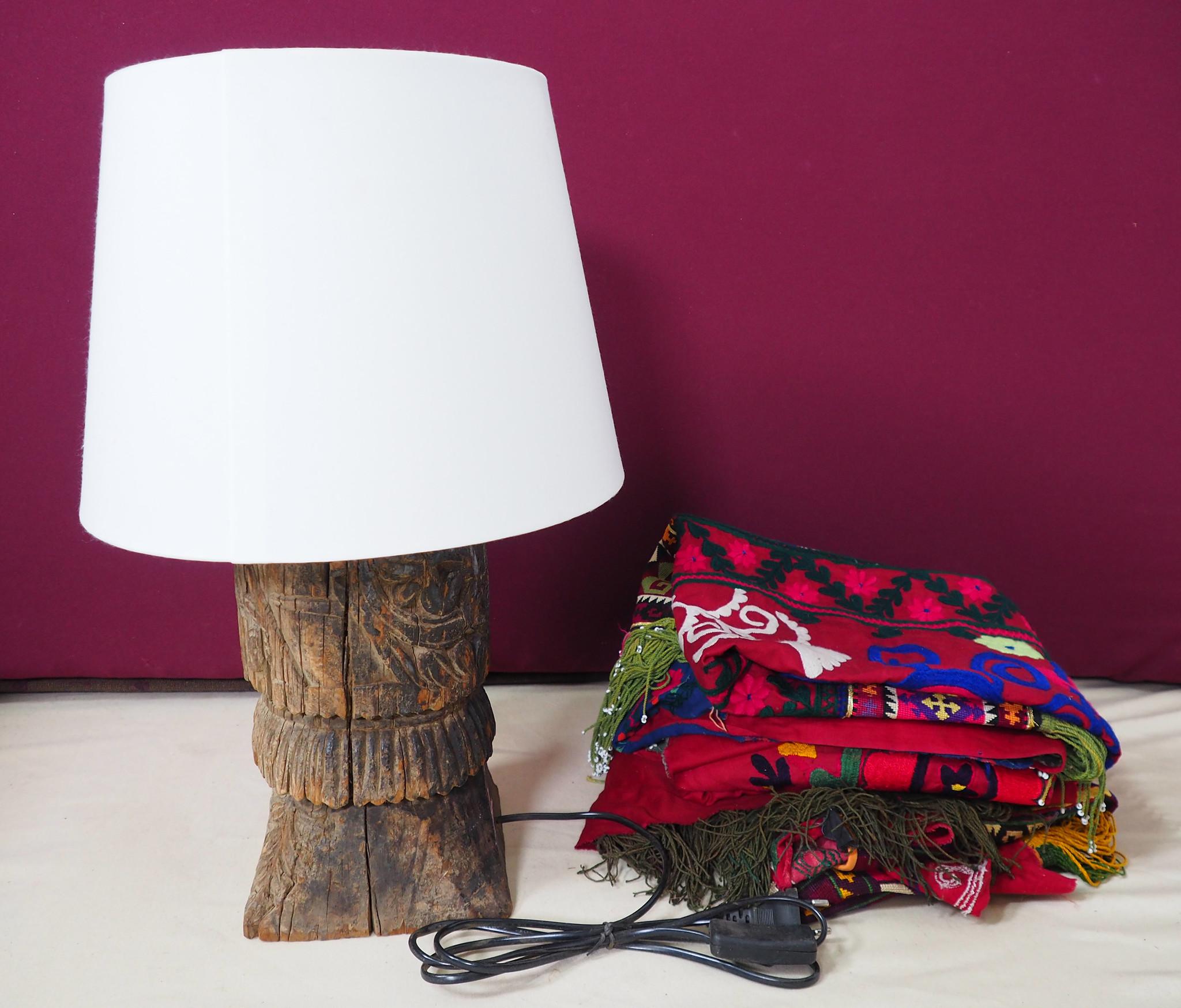 Antique lamp base  Nuristan  19/6
