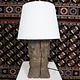 Antique lamp base  Nuristan  19/1