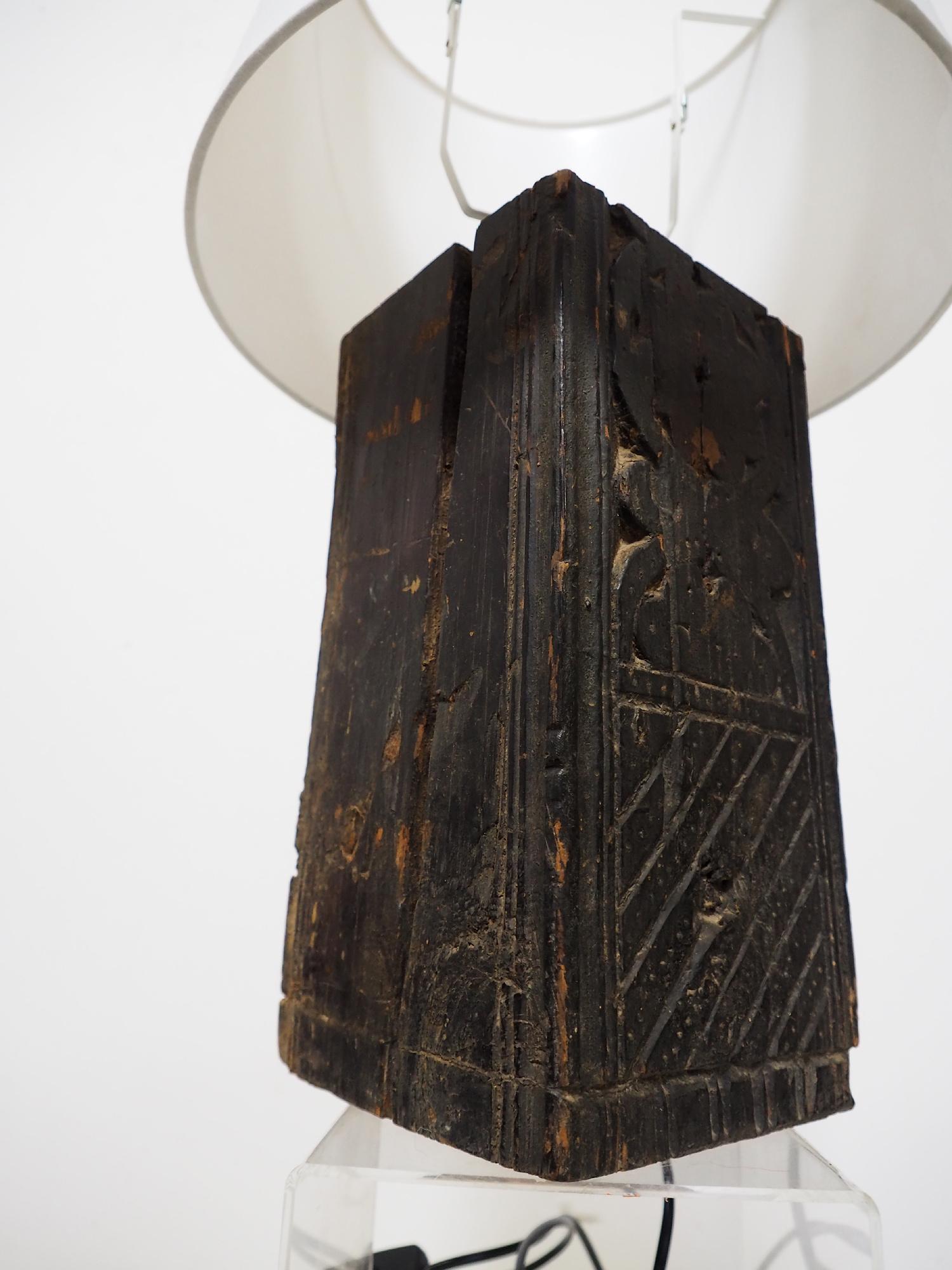 Antique lamp base  Nuristan  19/8