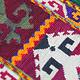antik orient Usbek Nomaden Suzani Jurten Zierband saye-gosha aus Afghanistan Nr:19/J