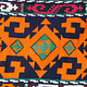 antik orient Usbek Nomaden Suzani Jurten Zierband saye-gosha aus Afghanistan Nr:19/Q