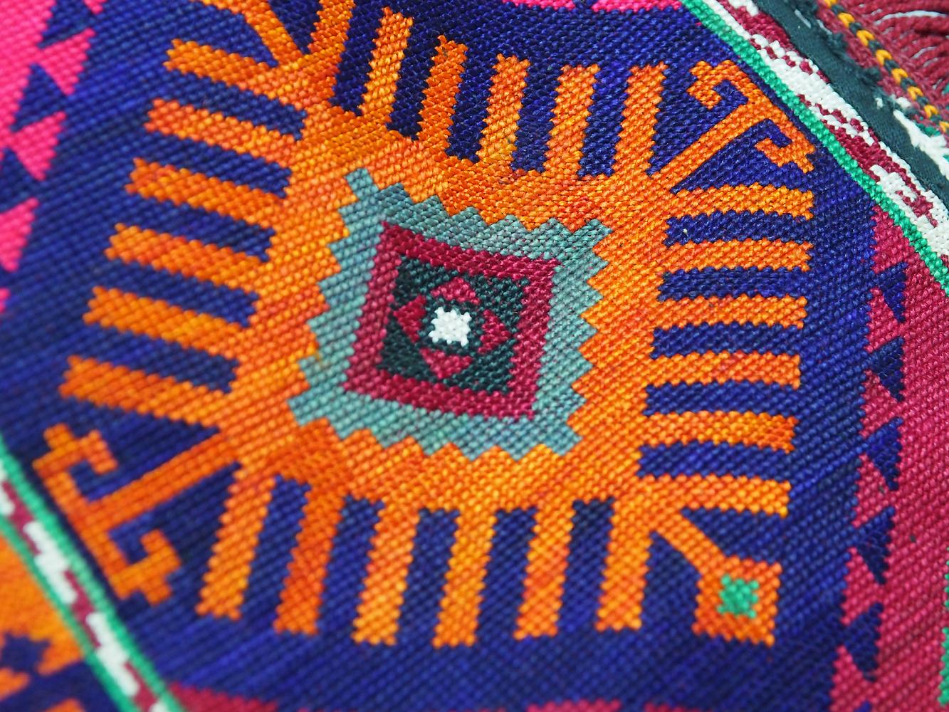 antik orient Usbek Nomaden Suzani Jurten Zierband saye-gosha aus Afghanistan Nr:19/S