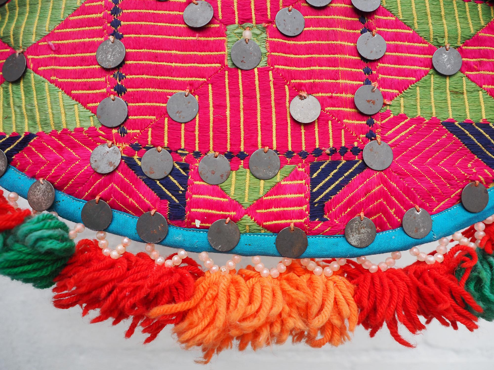 antique orient wedding fan swat Pakistan No:19/C