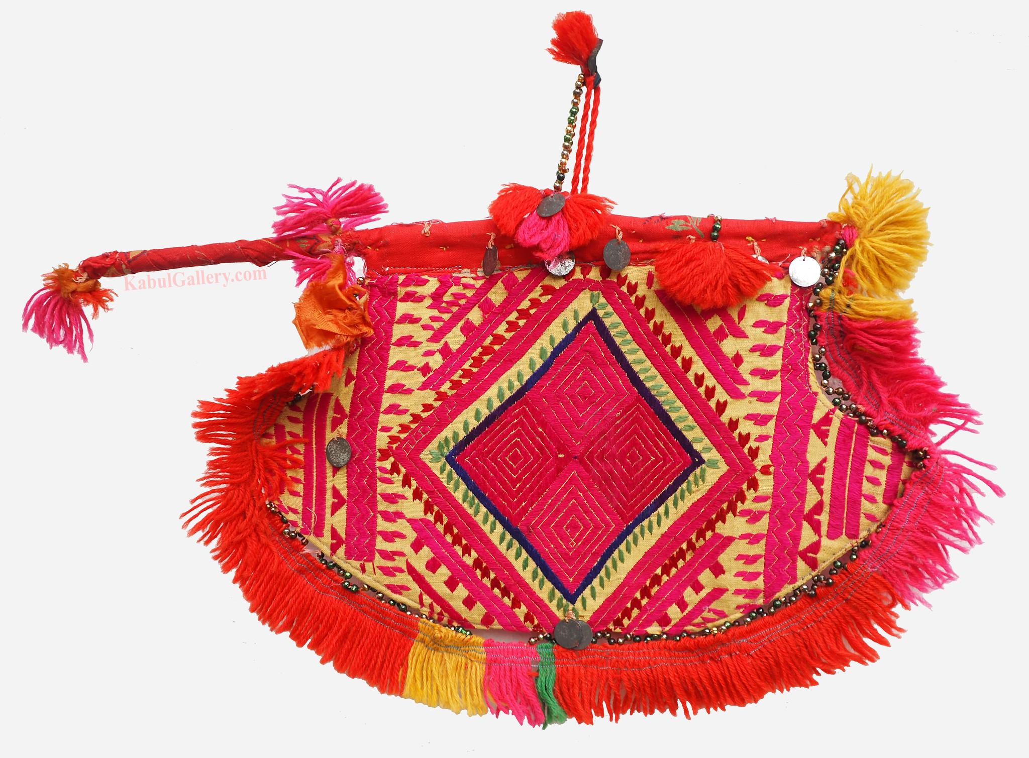 antique orient wedding fan swat Pakistan No:19/E