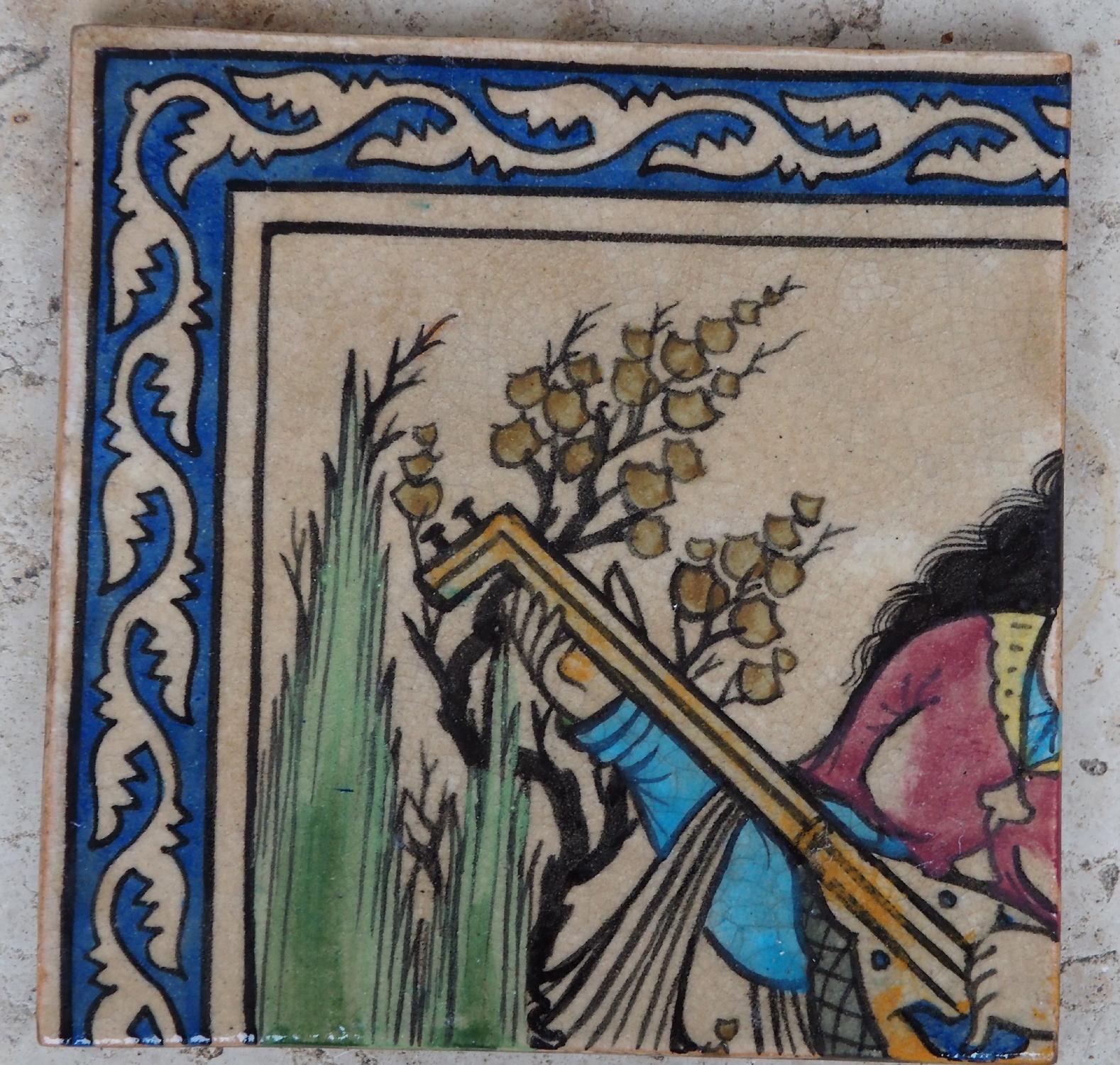 Antik islamische  Fliese  Kacheln 6 Teil