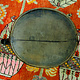 Antique wooden bowl  Nuristan Afghanistan No:ulm