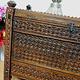ntik orient Massivholz Landhaus Bauernschrank Hochzeit Truhe aus Nuristan Afghanistan 19 Jh.Nr-ULM5