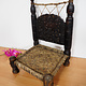 Antique Nuristan Chair Stuhl No:ULM/C