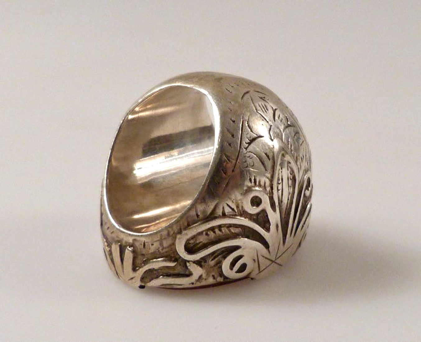 antik islamische  Karneol ring   mit Koran schrift Nr:511