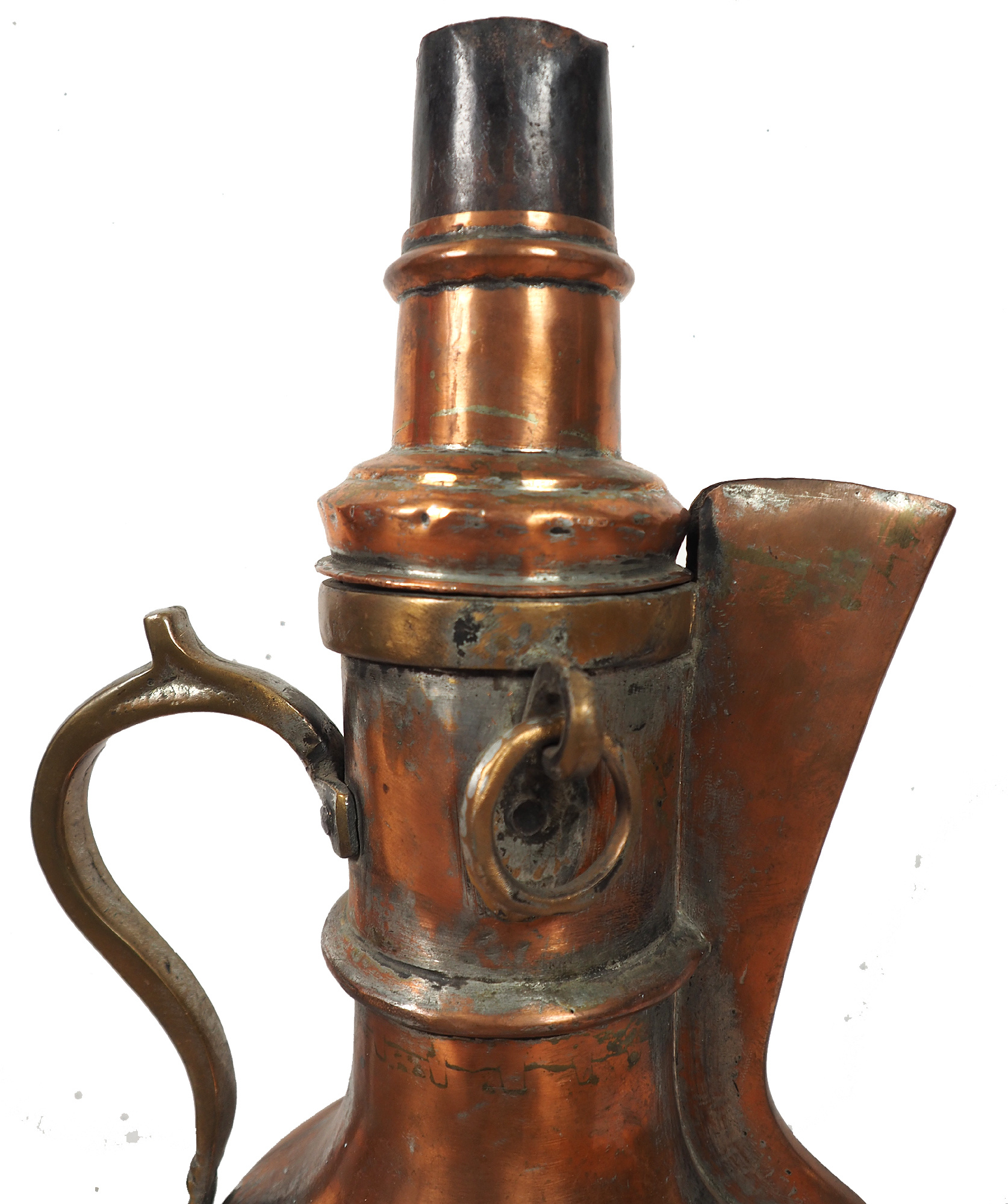 Large Antique Afghan Copper Samowar HH