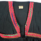 Vintage Orient Afghanische frauen Tracht afghan boho kleid afghanistan hand bestickte Goa Maxi ethno kostüm Black (Asiatica)