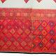 260 x 120 cm sehr seltener antike 19. Jahrhundert seiden Pulkari Schal Swat-Tal Pakistan im besten Zustand 20/C
