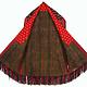 antik Orient Turkmenische Nomaden Chirpy Mantel khalat afghan uzbek kleid afghanistan hand bestickt kostüm Chapan Turkmen Tekke Chyrpy 20/A