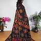 antik und sehr seltener Komplettes Frauen Hochzeit Kleid mit Kopftuch und Hose aus Afghanistan Nuristan kohistan Jumlo Nr-20/A