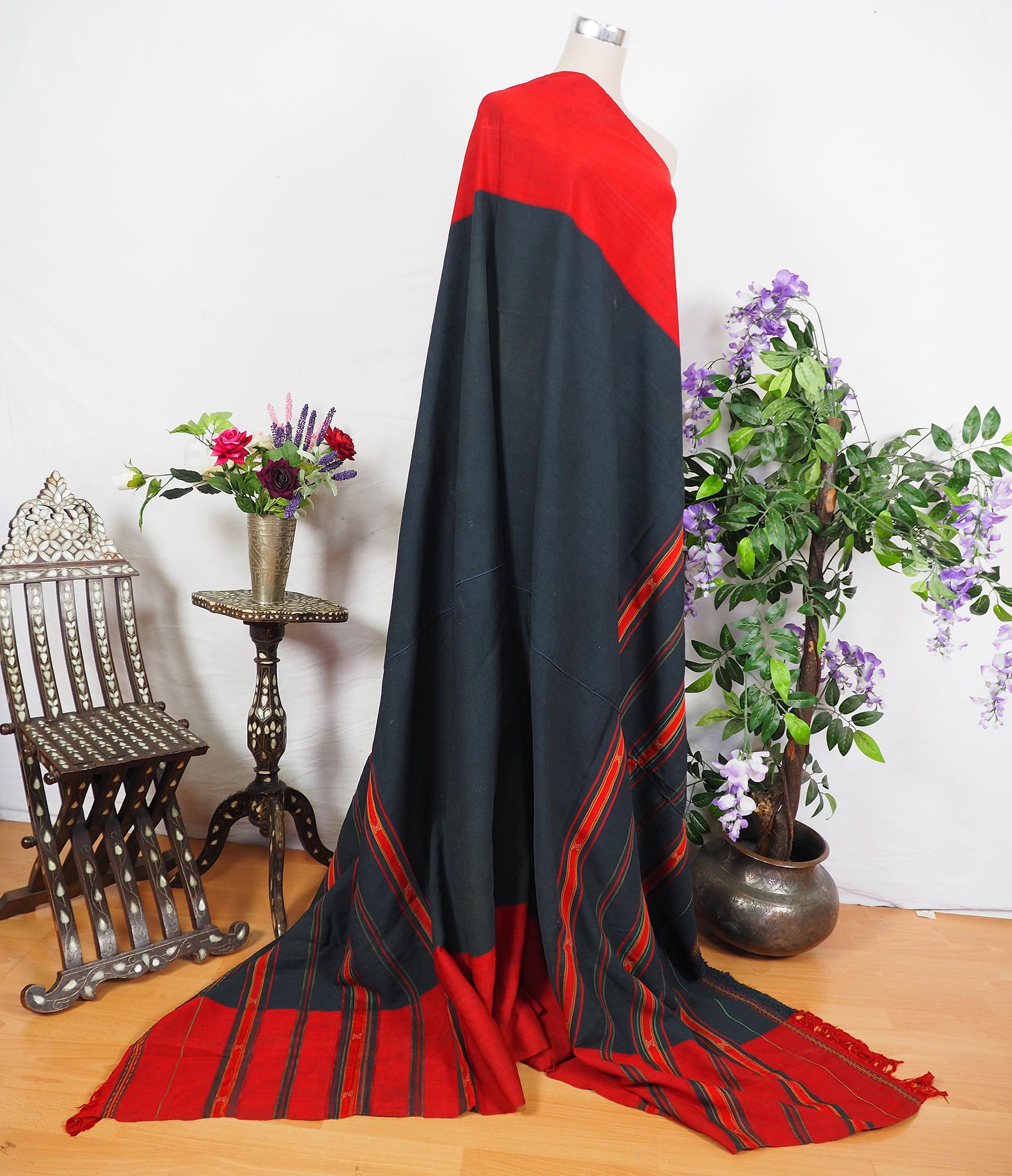 antique  silk embroidered  waziri men wedding shawl  20/C